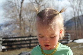 Love those pigtails!