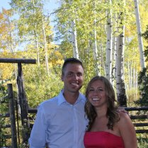 At one of my BFF's weddings, September 2010