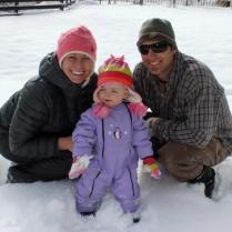 Dec 2012 - First snow!