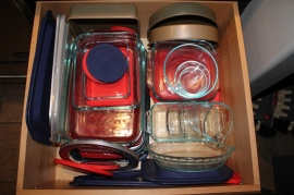 Pyrex drawer