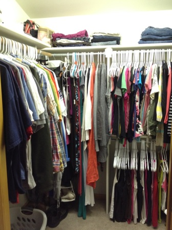 Joint closet After