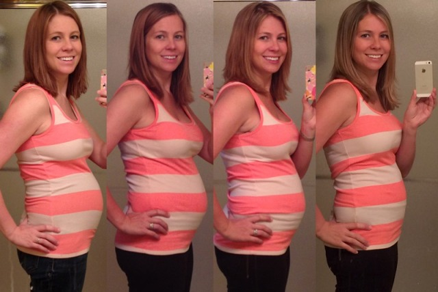 Postpartum Progress - 1 week / 3 months / 5 months / 9 months