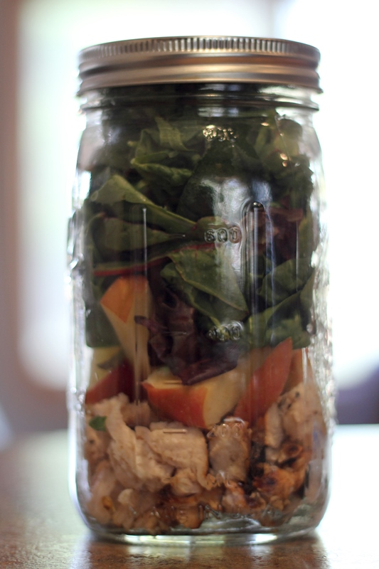 Mason Jar Salads – 21 Day Fix Approved | My Cheap Version ...